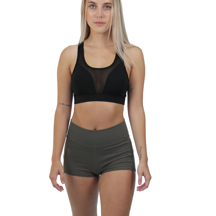 Bubbly High Waisted Shorts