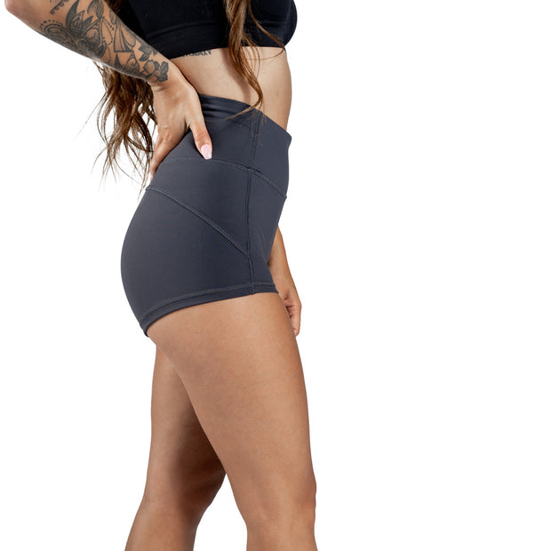 Hustle High Waisted Compression Shorts
