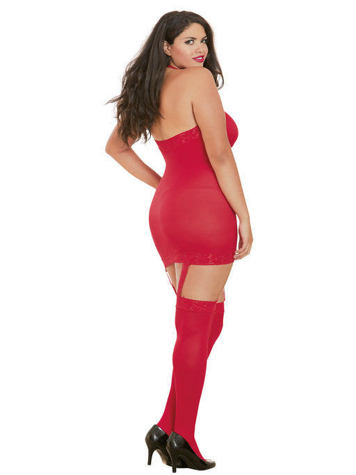 Bodystocking Dress
