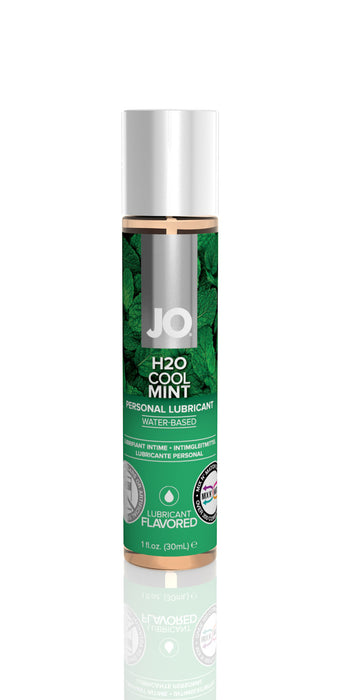 JO H2O Flavored 1 Oz / 30 ml Cool Mint (T)