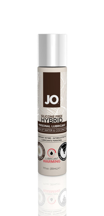 JO Coconut Hybrid Lubricant 1 Oz / 30 ml Warming
