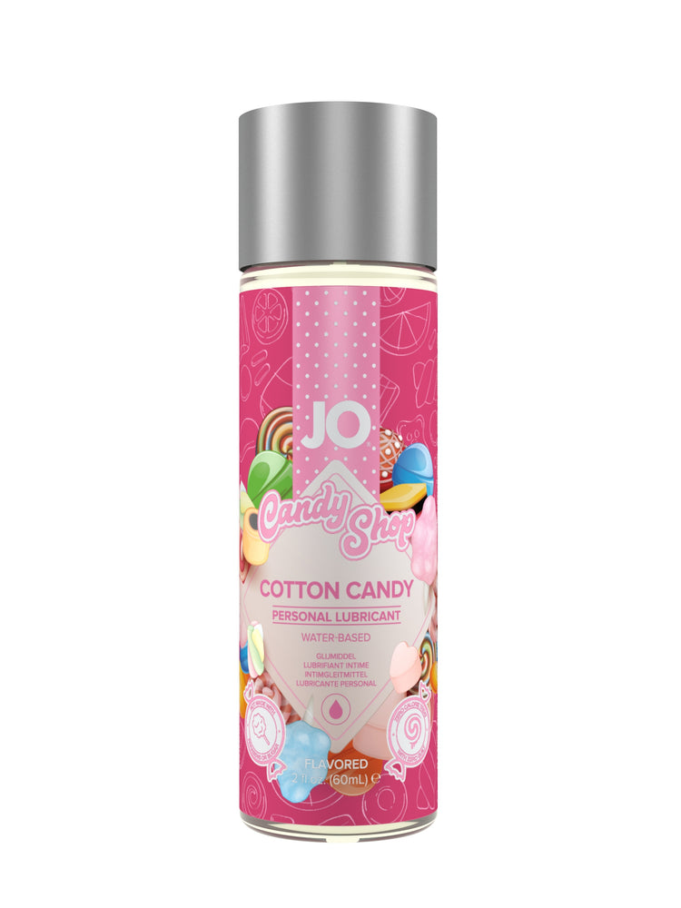 JO H2O - Cotton Candy - Lubricant 2 Oz / 60 ml (T)