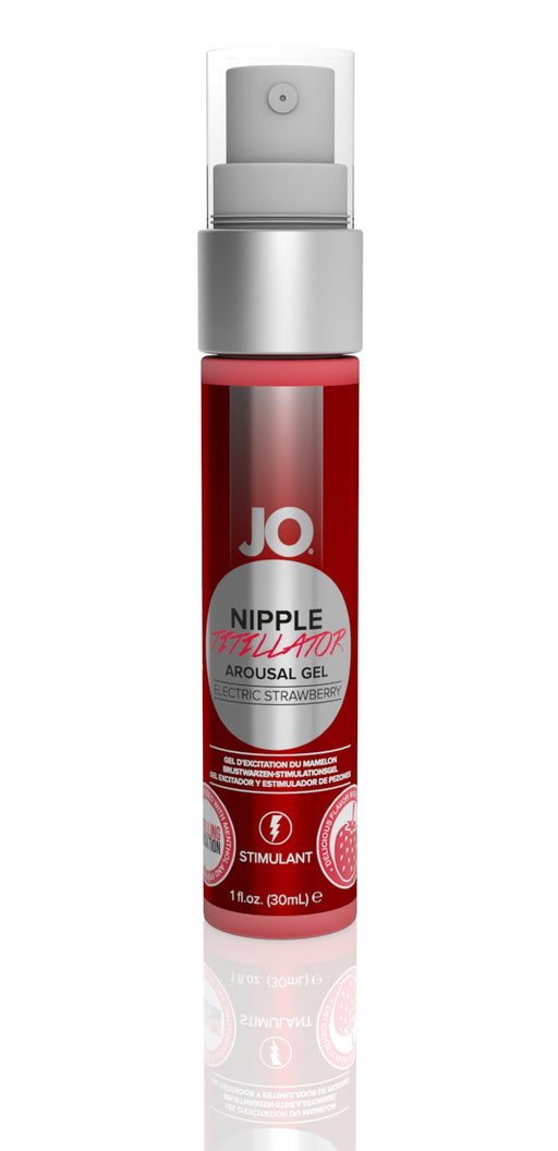 JO Nipple Titillator Strawberry 1 Oz / 30 ml (T)