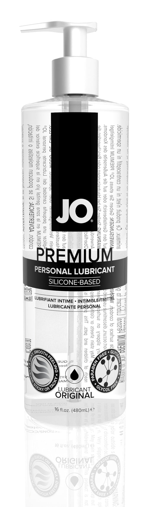 JO Premium Silicon 16 Oz / 480 ml