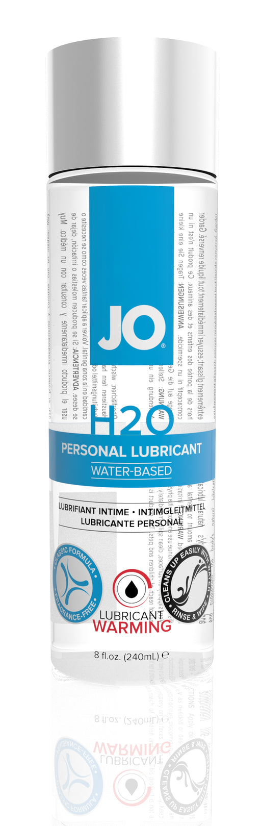 JO H2O Warming 8 Oz / 240 ml