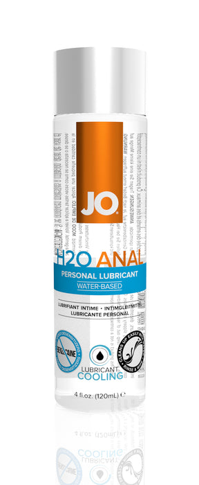 JO Anal H2O Cool  4 Oz / 120 ml
