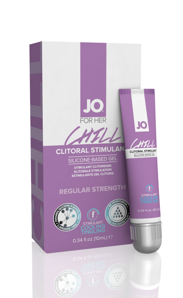 JO Clitoral Gel Tingling G-Spot Chill 0.34 Oz / 10 ml
