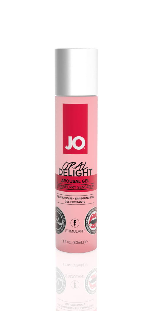 JO Oral Delight - Strawberry Sensation 1 Oz / 30 ml (T)