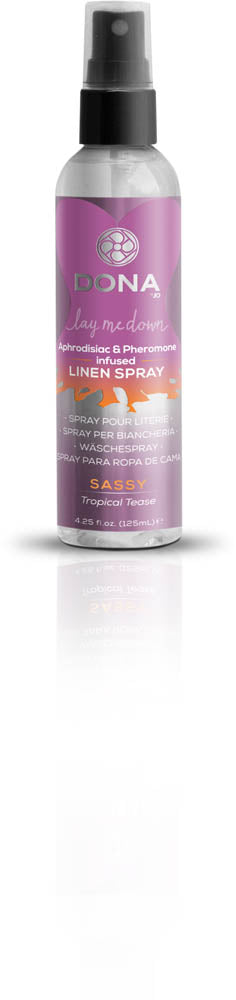 Dona Linen Spray Sassy Aroma: Tropical Tease 4oz  (T)