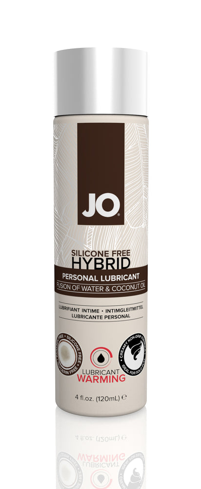 JO Coconut Hybrid Lubricant 4 Oz / 120 ml Warming