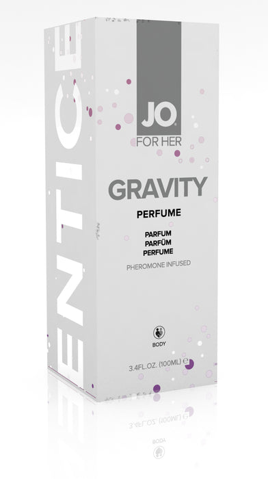 JO Gravity Perfume Infused With Pheromones For Her 3.74 Oz / 100 ml (D) (T)
