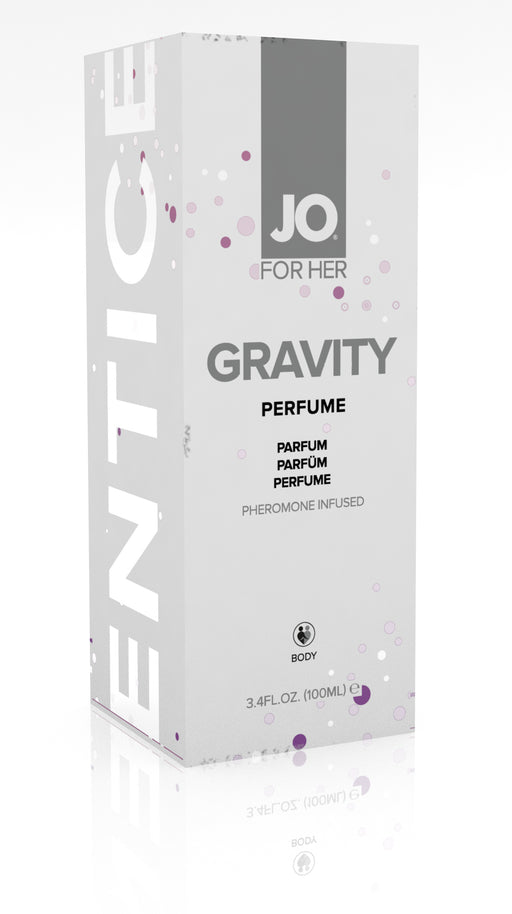 JO Gravity Perfume Infused With Pheromones For Her 3.74 Oz / 100 ml (T)