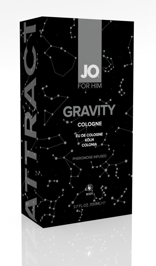 JO Gravity Cologne Infused With Pheromone For Him 3.7 Oz / 100 ml (N) (T)