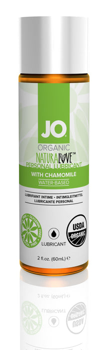 JO USDA Organic Lubricant 2 Oz / 60 ml