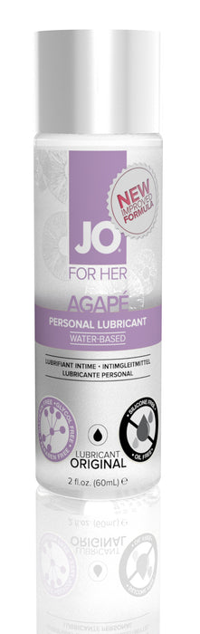 JO Agape Lubricant 2 Oz / 60 ml