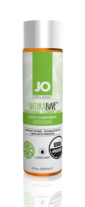 JO USDA Organic Lubricant 4 Oz / 120 ml