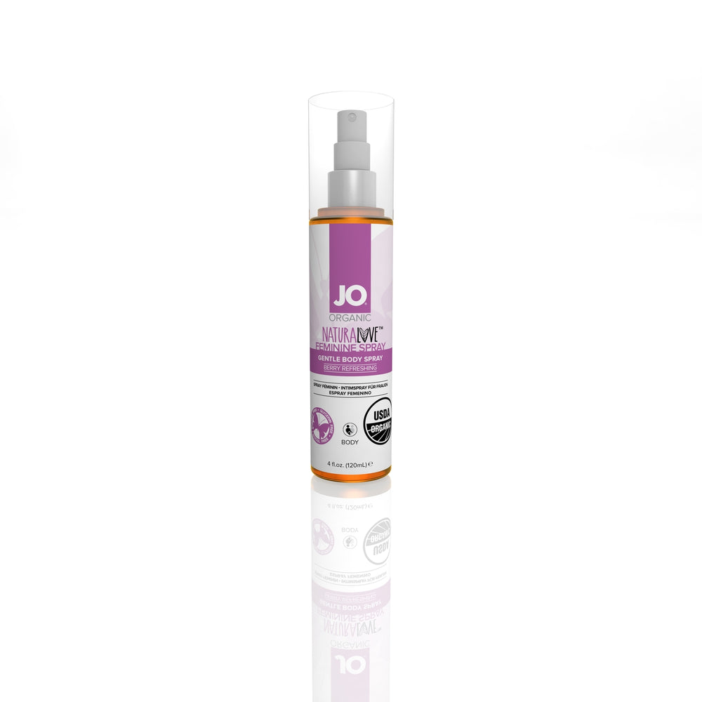 JO USDA Organic Feminine Spray 4 Oz / 120 ml (N)