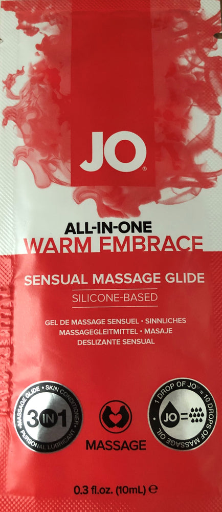 All-In-One Massage Warming Foil 10 ml