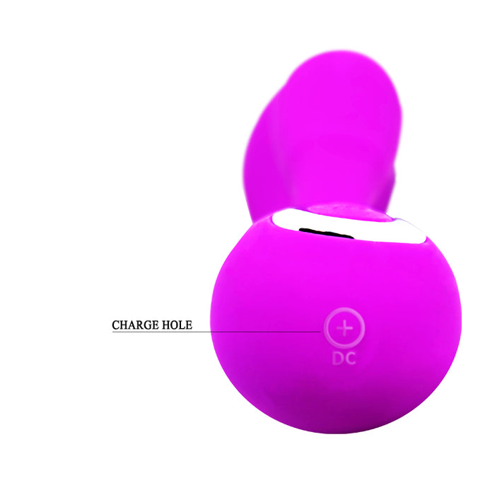 "Rechargeable Heating Vibe ""Impulse"" Purple"
