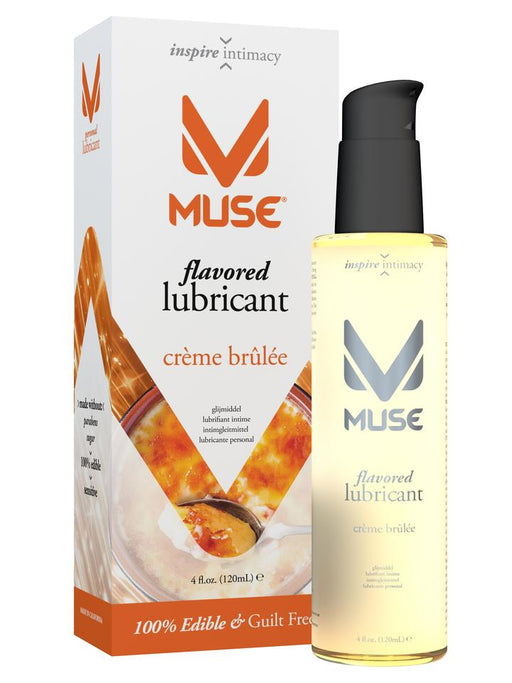 Muse Flavored Crème Brule 4 Oz / 120 ml (Flavoured Lubricant)