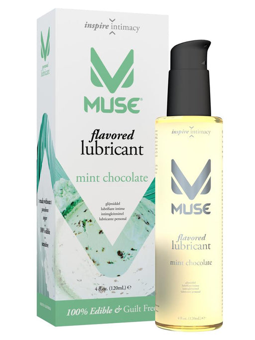 Muse Flavored Mint Chocolate 4 Oz / 120 ml (Flavoured Lubricant)