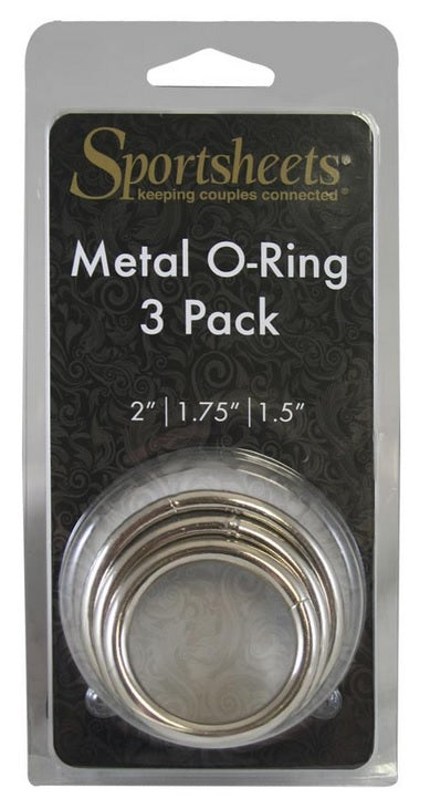 Metal O Ring 3 Pack 2""