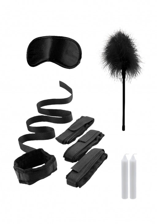 Bed Bindings Restraint Kit - Black