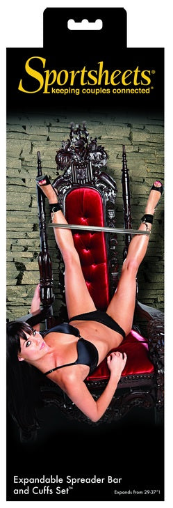 Sportsheets Expand Spreader Bar & Cuffs Set