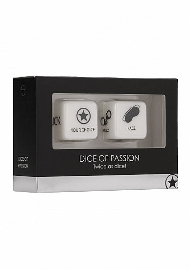 Dice Of Passion - Black