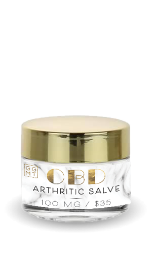 Broad Spectrum Salve - Arthritic - GG MT CBD