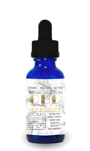 Broad Spectrum Energize Blend Tincture - GG MT CBD