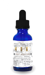 Broad Spectrum Pet Rescue Tincture - GG MT CBD