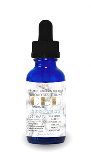 Broad Spectrum Recovery Blend Tincture - GG MT CBD