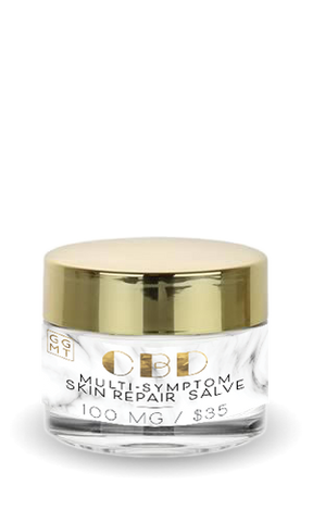 Broad Spectrum Salve - Multi Purpose Skin Repair - GG MT CBD