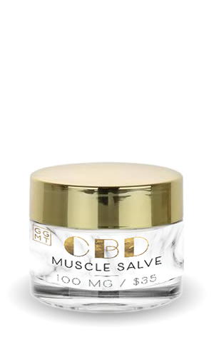 Broad Spectrum Salve - Muscle Rub - GG MT CBD