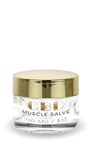 Broad Spectrum Salve - Muscle Rub