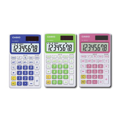 3-Pack Casio Handy Calculator
