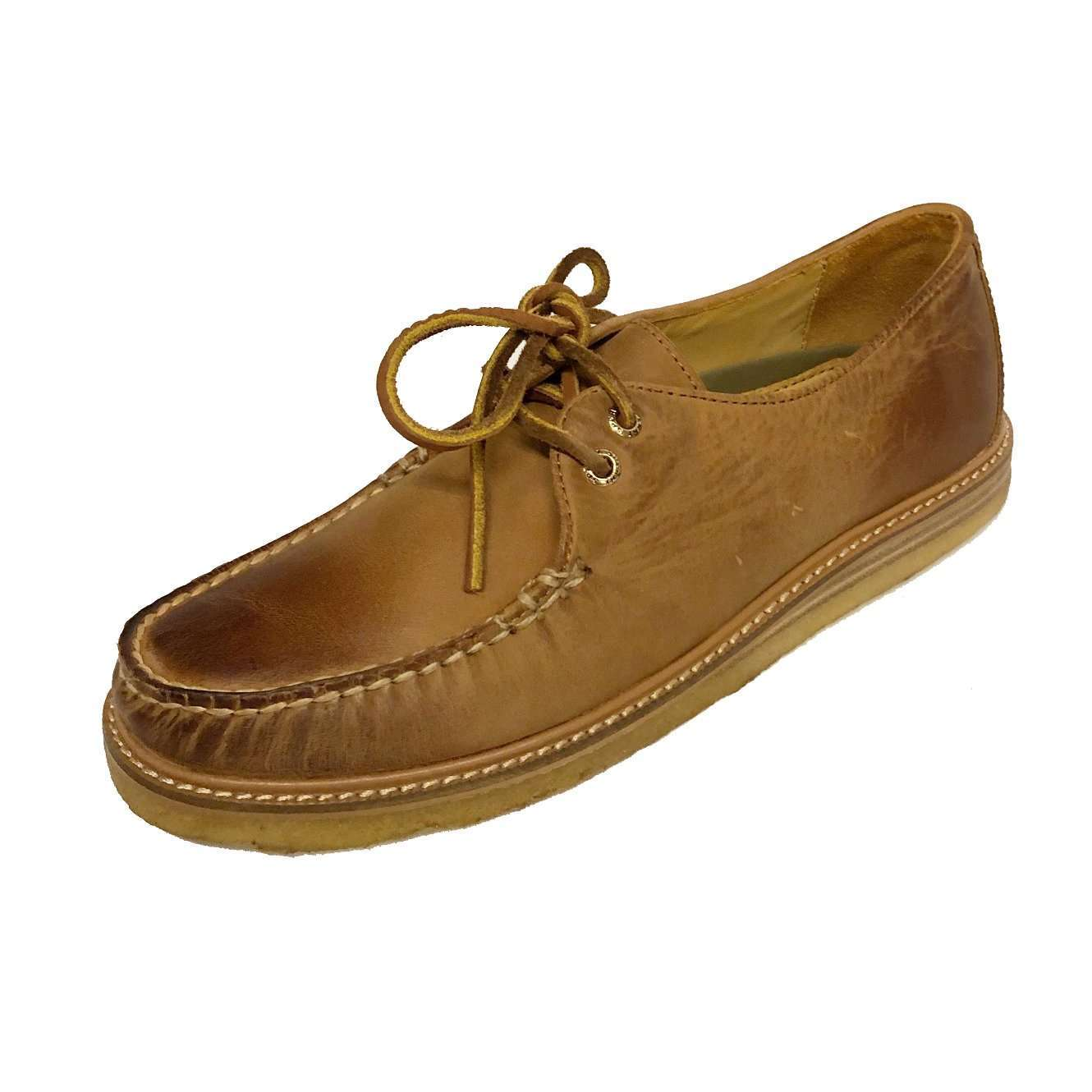 Sperry Men's Top-Sider GOLD Captain's Crepe Leath Oxford
