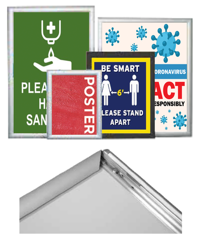 Snap-Frame Poster Holders