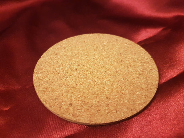 Custom Cork Coasters - Coaster - Display - Blank - Your Image here - Personalized Gift for Her\Him - Birthday\Holiday - Natural