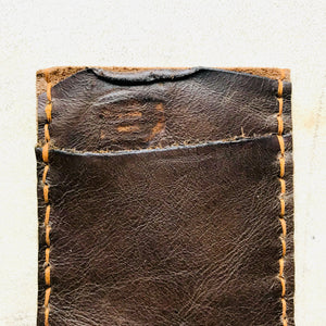 The Burton 2 Pocket Leather Slim Wallet