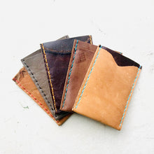 Load image into Gallery viewer, The Burton 2 Pocket Leather Slim Wallet