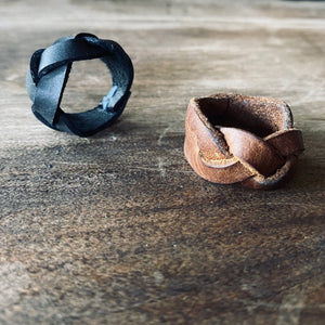 Audrey Leather Ring