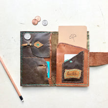 Load image into Gallery viewer, Leather Passport holder by Bernice London