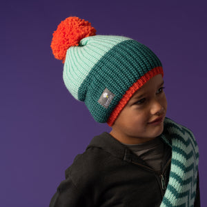 Bobble Hat - Forest Tang