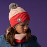Bobble Hat - Pink Dusk