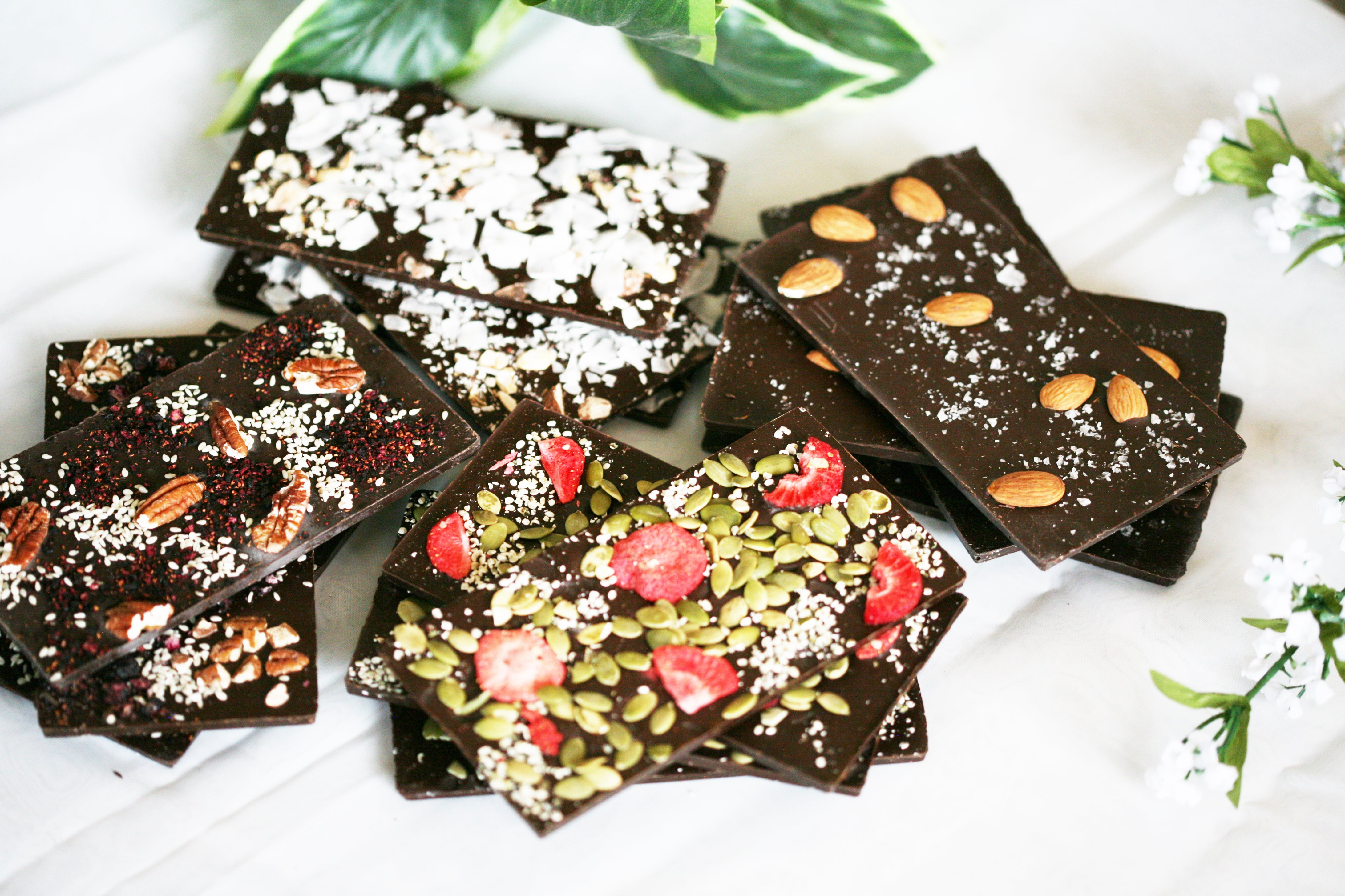 Keto Coconut and Nuts Chocolate Bar