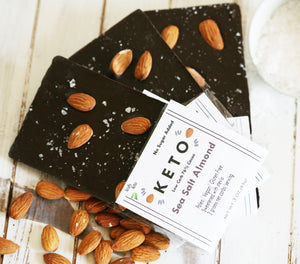 Keto Almond Sea Salt Bar