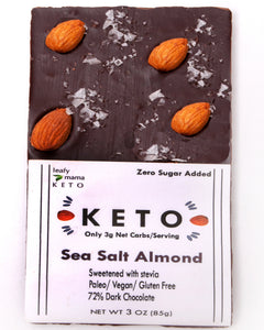 Keto Sea Salt Almond Bar