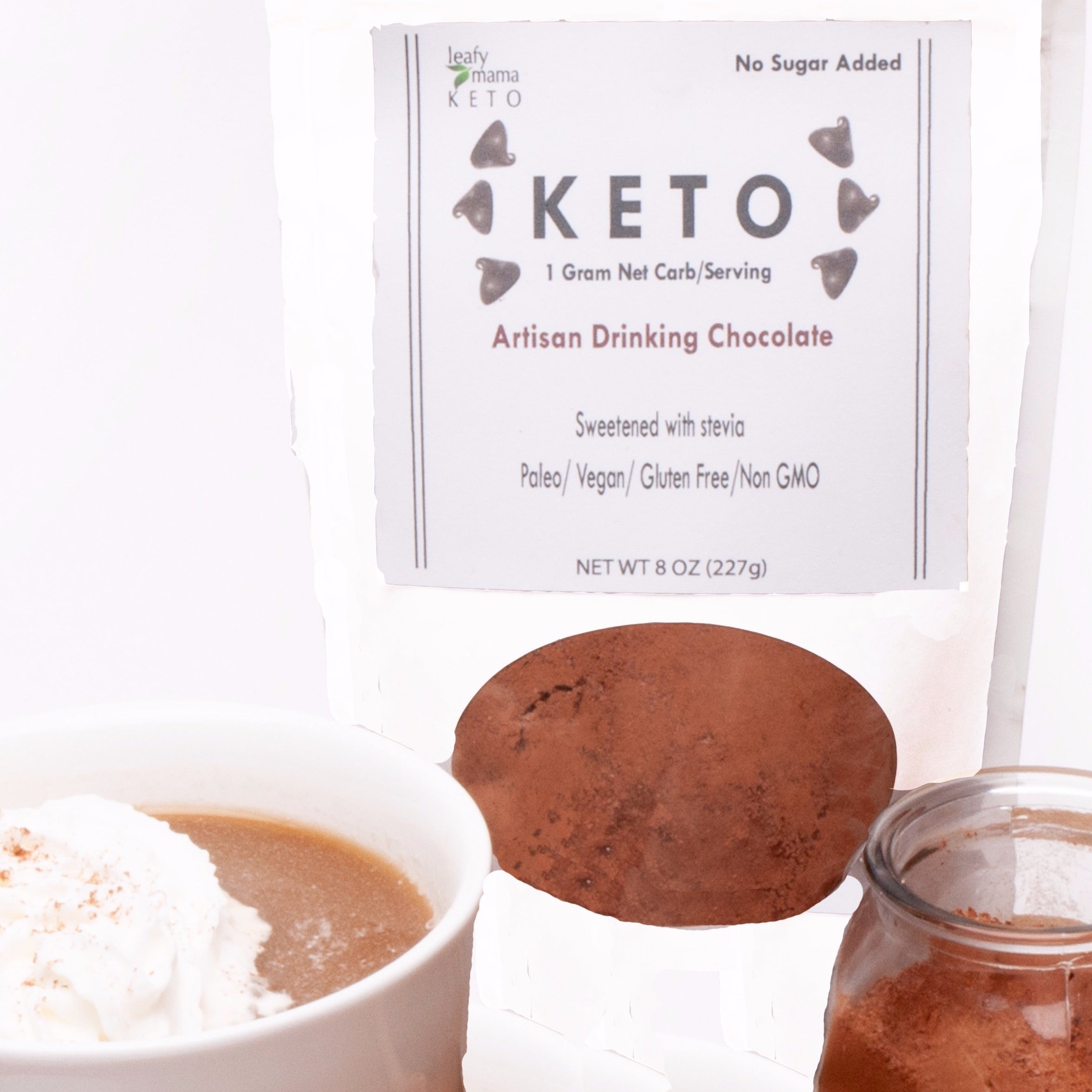Keto Artisanal Drinking Chocolate